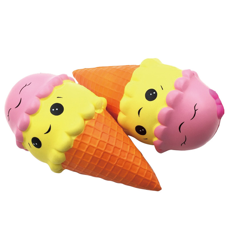 Soft Slow Rising Squishy Toys Big Jumbo Ice Cream Tone Icecream 18CM 22CM Food Squishy Toys With Good Smell Scented