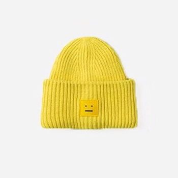2020 New Acne unisex women's autumn and winter hats Angora100% double layer warm hat Skulies wool hat Warm knitted hat 13