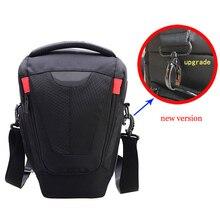 Taşınabilir kamera çantası Kılıf Canon EOS 5D4 5DIV 5D3 5DIII 5DII 5DSR 6D 6D2 7D 70 200mm 100 400 mercek omuz çantası kılıfı XL