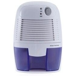 500Ml domowe osuszacze powietrza Mini Semiconductor osuszacz szafa osuszacz wilgoci przemysłowy osuszacz powietrza ue wtyczka w Osuszacze powietrza od AGD na