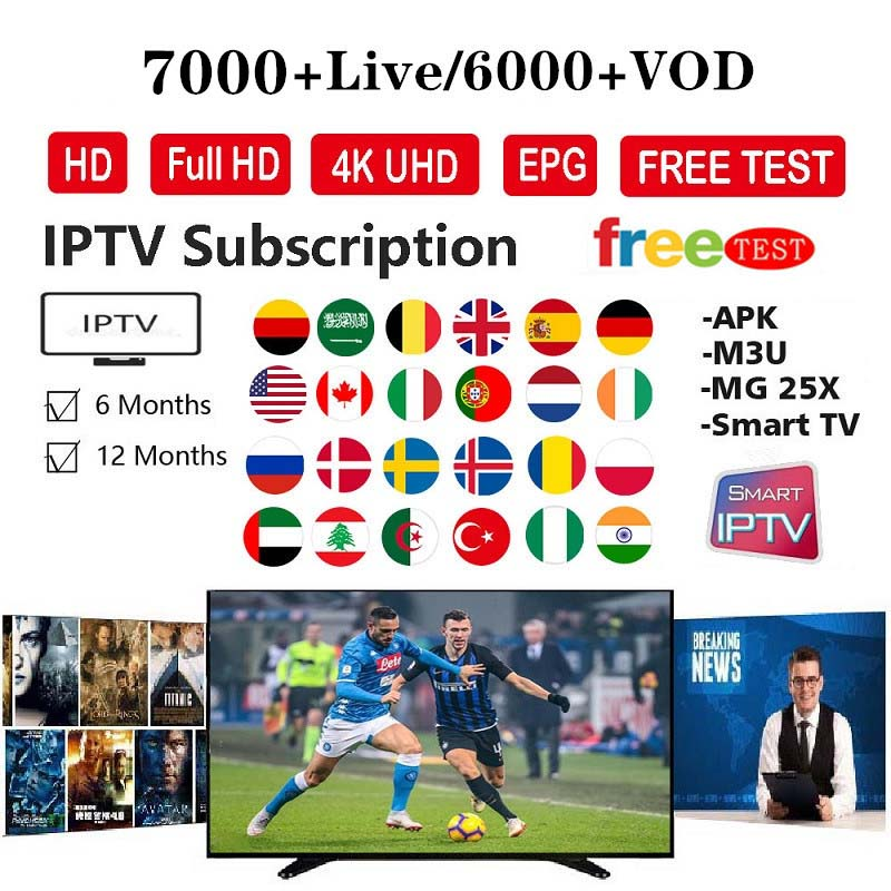 Europe Iptv Subscription Italian French Polish Belgium Turkish Canada Portugal UK Iptv Code Hot Club Xxx Free Test M3u