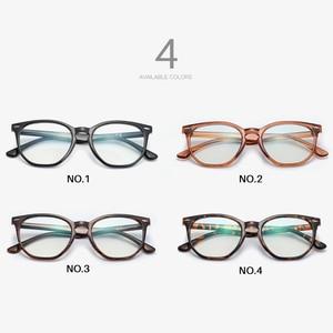 Image 4 - AEVOGUE Anti Blue Light Glasses Men Optical Eyeglasses Prescription Frame Women Polygon Eyewear AE0787