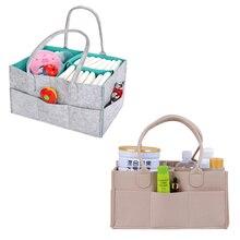 Baby Diaper Caddy Organizer Bags Portable Holder Bag For Baby's Milk Feeding Bottle Medicine Bag Purse Large Capacity Handbag