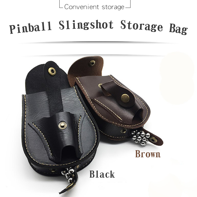 Slingshot Package Outdoor Sports Shooting Steel Ball Ammo Mag Pouch Catapult Bag Bow Hunting Accessories Back Through The Belt