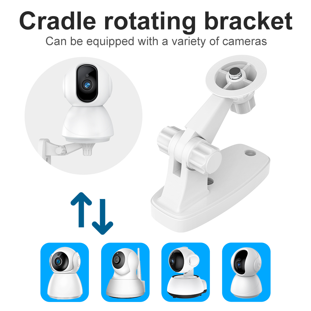 SDETER Wall Bracket For Security Camera IP Wireless WIFI Camera Home Surveillance Baby Monitor P2P V380 YCC365 ICSEE Series