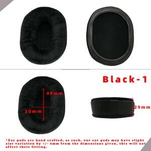 Image 5 - Coussinets doreille de remplacement pour audio technica ATH PR05 T22 T3 M50, pièces de casque, coussin en cuir velours, housse de manchon pour écouteurs
