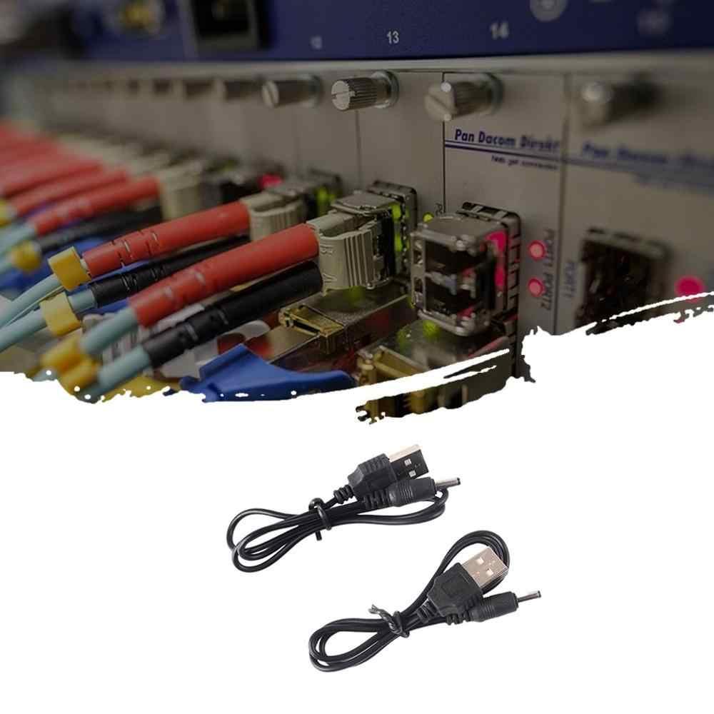 كابل شحن USB شحن خط مصباح يدوي سلك الطاقة مكبر صوت صغير شحن خط تيار مستمر كهربائي صغير