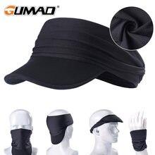 Черная кепка с изображением черепа и галактики солнцезащитный