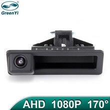 GreenYi 170 ° 1920x1080P HD AHD Автомобильная камера заднего вида для BMW 3 серии BMW 5 X5 X1 X6 E82 E84 E88 E90 E91 E92 E93 E60 автомобиль