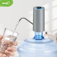SaengQ-dispensador de agua automático, carga USB eléctrica con bomba de agua, bomba de botella de agua, interruptor automático, dispensador de bebidas