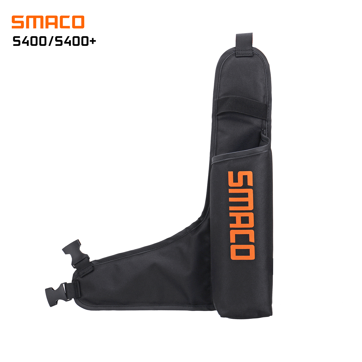 SMACO 600D High-Elastic PVC Oxygen Tank Storage Bag Lightweight Respirator Bag Diving Travel For S400/S400 Plus