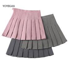 Милые женские клетчатые юбки коплект летней нижнее белье с высокой