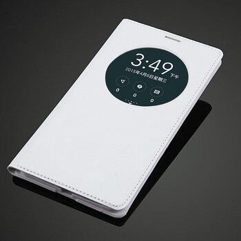 Для ASUS Zenfone 2 5,5 дюймов с окошком для просмотра Quick Circle чехол с аккумулятором задняя крышка флип кожаный чехол для ASUS Zenfone 2 ZE551ML ZE550ML