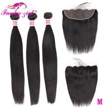 Волосы для наращивания, 3 пучка, прямые, с фронтальной застежкой