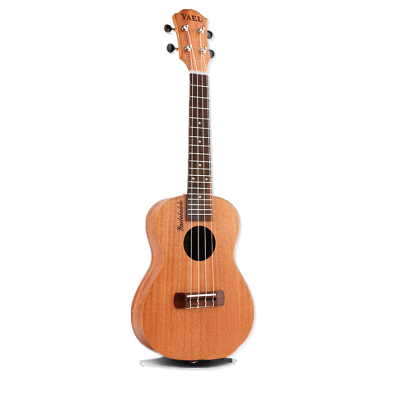 Musical-Instruments Ukulele Beginner Hawaii-Guitar Wood Rose Soprano Professional Gift title=