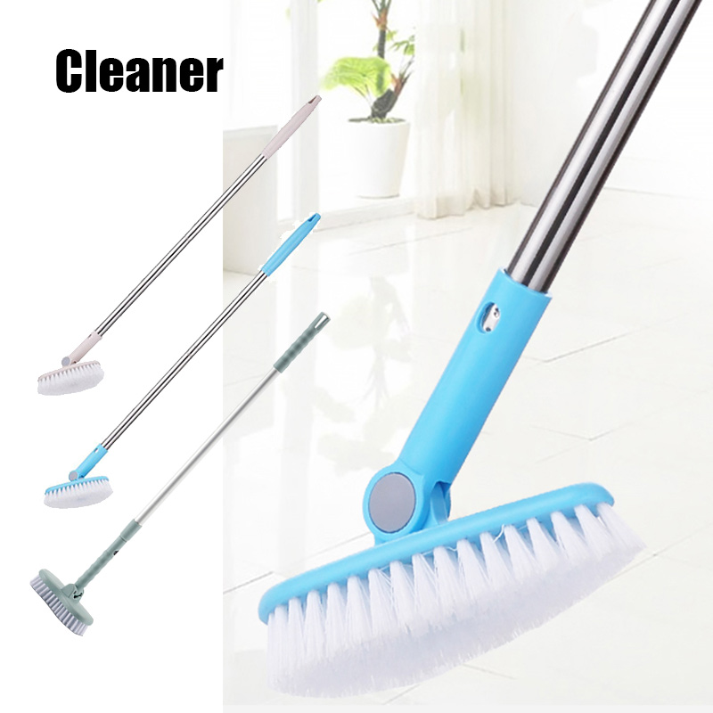 Bathroom Wall Floor Scrub Brush Long Handle BathTub Shower Tile Cleaning Tool K888|Cleaning Brushes| |  - title=