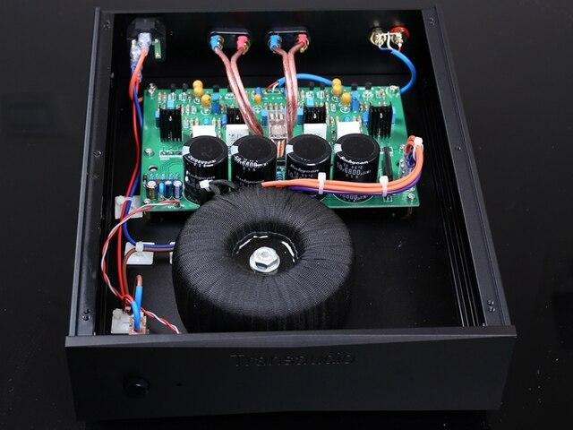 2019 جديد الانتهاء ستيريو HiFi 75 واط + 75 واط مكبر للصوت على أساس Naim NAP200 دائرة أمبير الطاقة قناتين مضخم الصوت