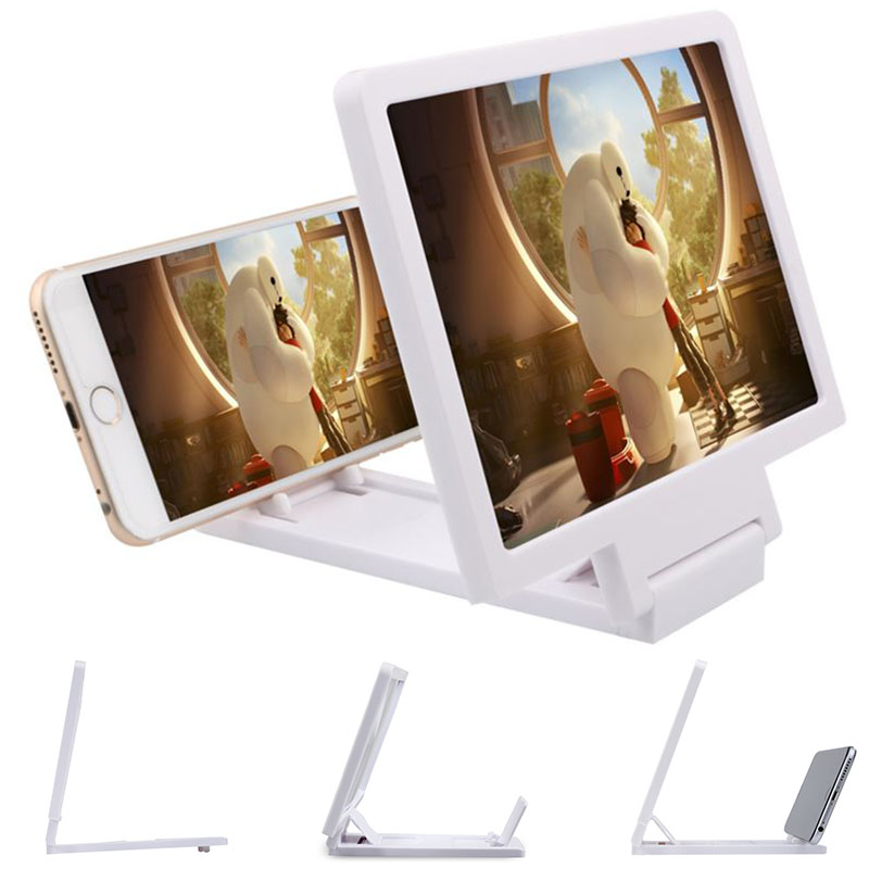 Durable Radiation-proof HD Screen Movie Screen Enlarge Cellphone Stand For IPhone/ Samsung