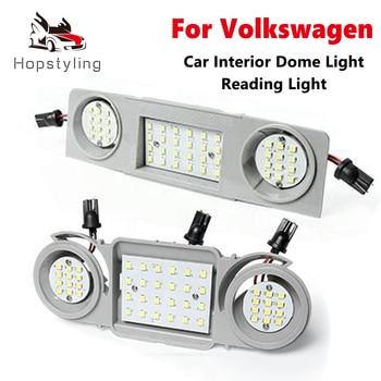 Luces LED de techo para Interior de coche, para VW, Golf, Passat,...