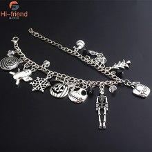 Halloween The Nightmare Before Christmas Bracelet Jack Shantou Womens Jewelry Accessories Gift