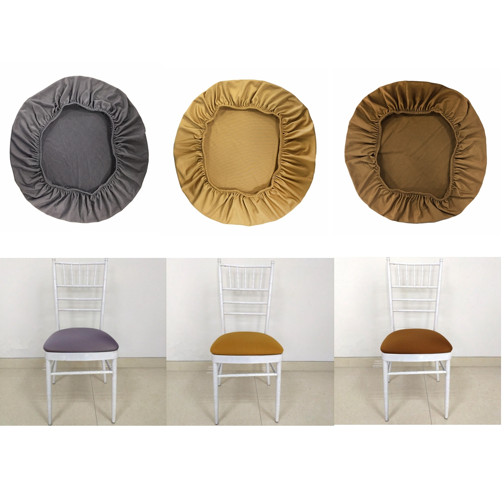 Spandex Stretch Chair Seat Cover Wedding Dining Room Chair Slipcover