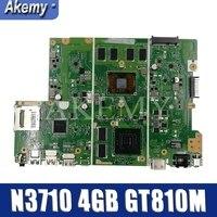 X441NC اللوحة اللوحة ل For Asus X441N X441NC اللوحة اختبار موافق N3710 CPU 4GB-RAM GT810M