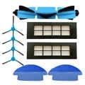Hepa filtro principal substituição da escova para cocotec conga 3090 série peças de aspirador de pó escova lateral mop almofada do tanque de água filtro