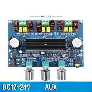 Image 5 - Kaolanhon DC12 ~ 24V 100W + 50W * 2 5.0 Bluetooth amplifikatör kurulu yüksek güç çift TPA3116D2 2.1 dijital amplifikatör kurulu AUX ile ton