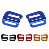 8 stück Multi-Farbe Gurtband Schnallen 1 Zoll G Haken Für Rucksack Strap Gepäck Einstellen Schnallen Breiter Stil Wandern rucksack Riemen