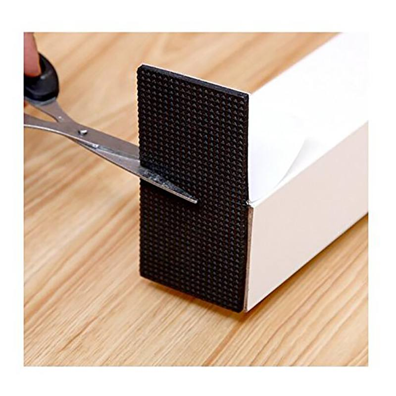 Furnishing Non-slip Mat Thicken Protecting Pad Self Adhesive Desk Feet Cover Noise Avoiding Non-slip Mat For Home Office