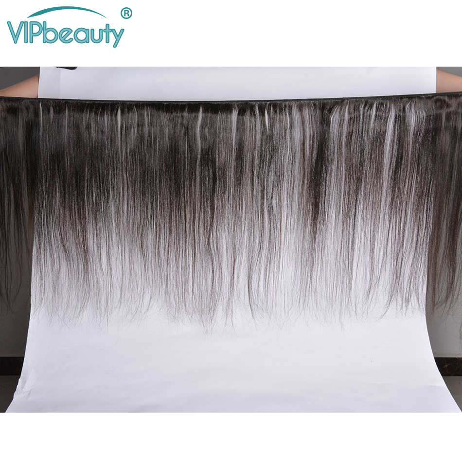 Vip Beauty Malaysian Straight Hair 13x4 Lace Frontal Closure With Bundles  Remy Hair Bundles with Frontal 1b-in 3/4 Bundles with Closure from Hair Extensions & Wigs    2