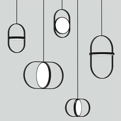 Modern LED vertigo pendant lamp La suspension E27 Constance Guisset est un luminaire for Dining Room Restaurant lampe lustre|Pendant Lights| |  - title=