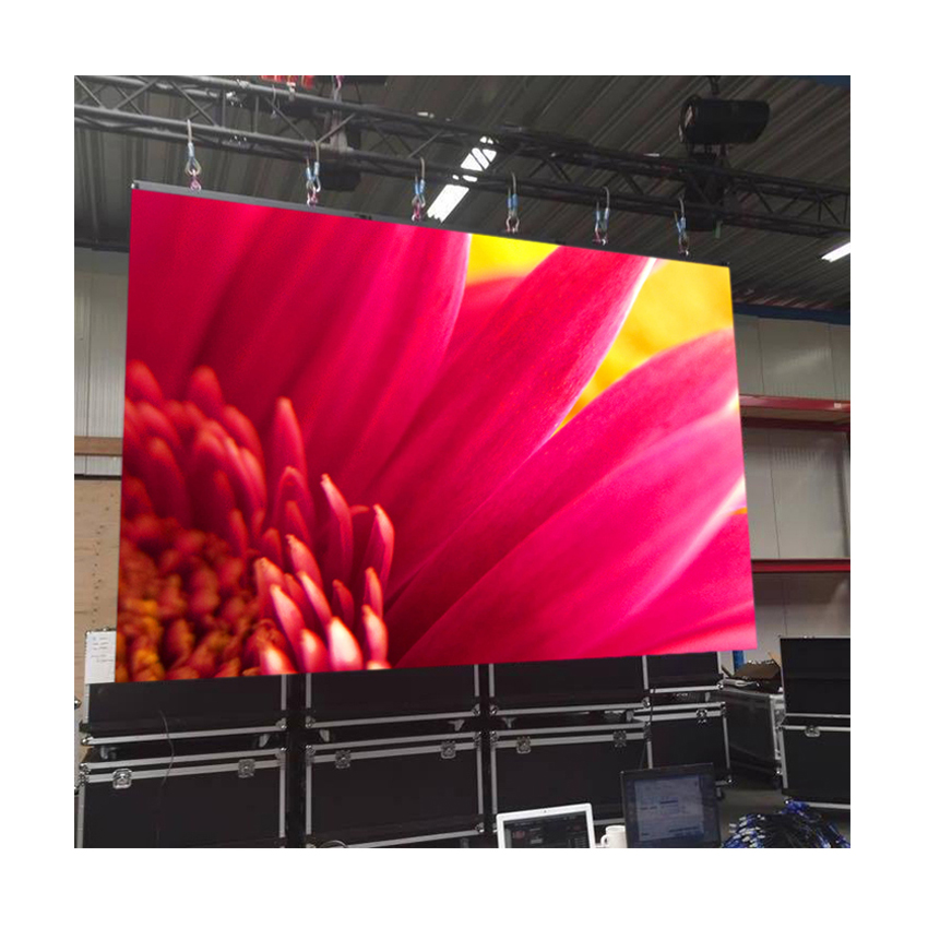 High Definition Waterproof 128*128dots 512x512mm Die Casting Aluminum Cabinet, P4 SMD LED Video Wall Outdoor LED Display Screen