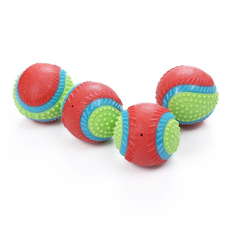 Rindfleisch Geschmack Für Hund Zu Release Stress Interaktive Gummi Ball Spielzeug Pet Quietschende Kauen Spielzeug Pet Liefert - 4