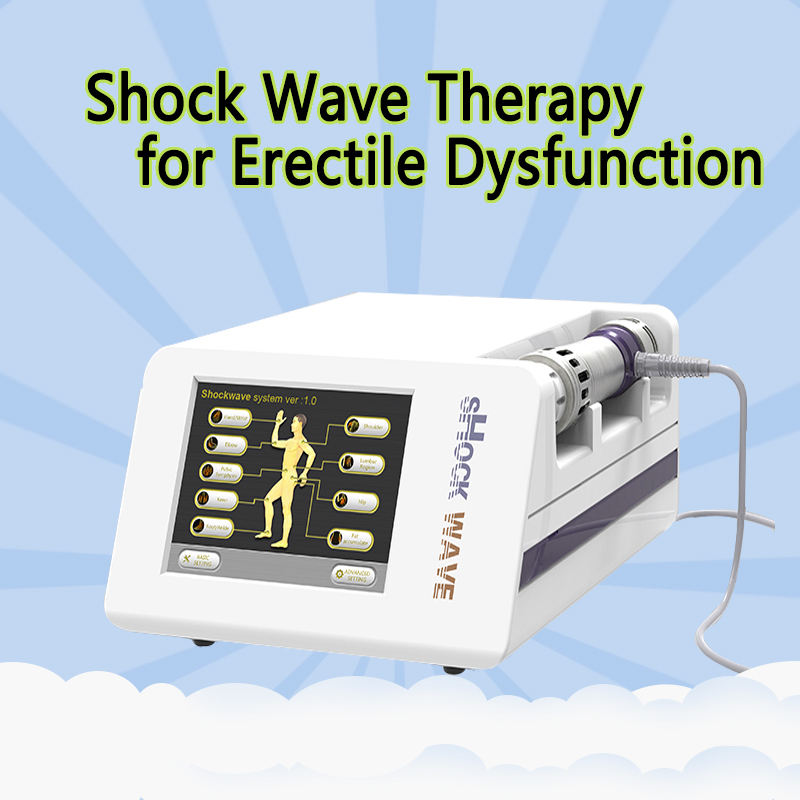Portable ShockWave Treatment Equipment / Physical Therapy Shockwave Machine For Pain Relief ED Treatment