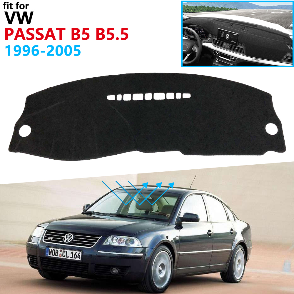 Dashboard Cover Protective Pad for Volkswagen VW Passat B5 B5 5 1996 2005 Accessories Dash Board Sunshade Anti-UV Carpet 2000