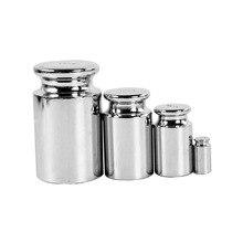 Хром грамм калибровки покрытие для весовая шкала 10g 100g 200g 500g Вес серебро