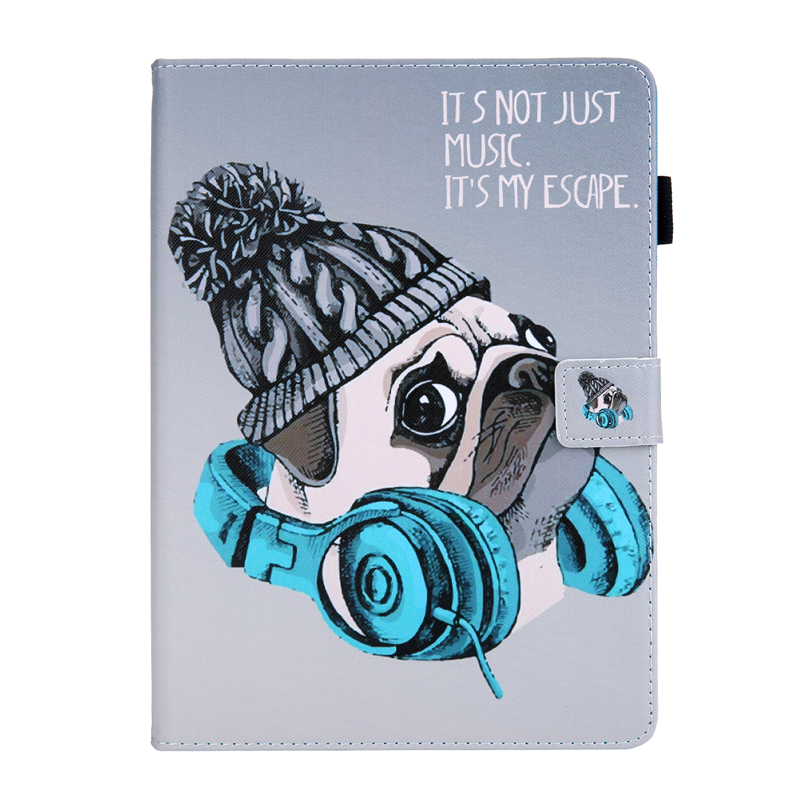 N Silver Tablet Cover For Apple IPad Air 4 10 9 inch 2020 Cartoon Leather Case For Ipad