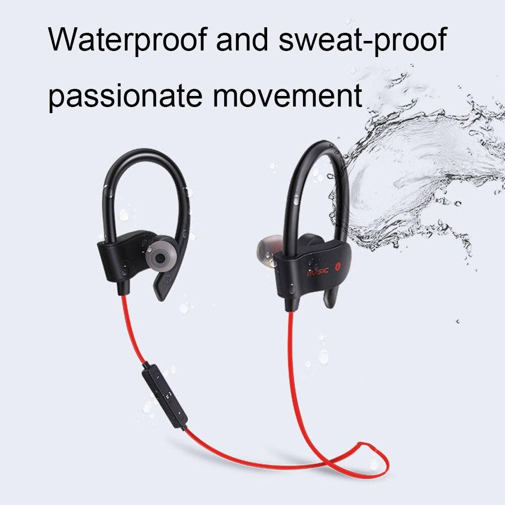 Bluetooth Earphone Earloop Earbuds Stereo Bluetooth Headset Wireless Sport Earpiece Handsfree With Mic For xiaomi Headphones 3