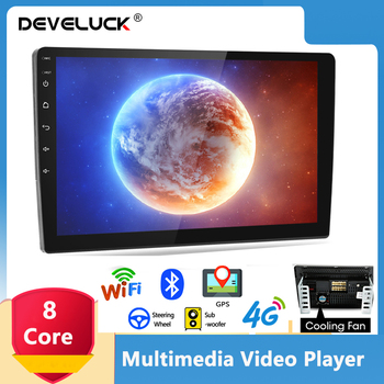 9/10.1 Inch 2 Din Android 10.0 2G+32G 4G NET Car Radio Multimedia Video Player RDS DSP GPS Navigation FM For Toyota Kia Honda VW image