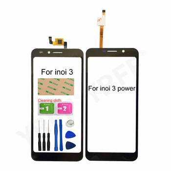 For Inoi 3 Glass Touch Screen For Inoi 3 Power Touch Screen Digitizer Sensor Glass Panel Replacement Parts witblue new mglctp 701271 touch screen touch panel glass sensor digitizer replacement for 7 inch tablet