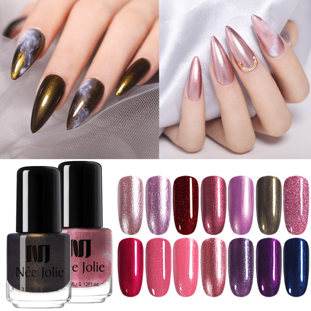 Лак для ногтей NEE красивый, 73 цвета, 3,5 мл