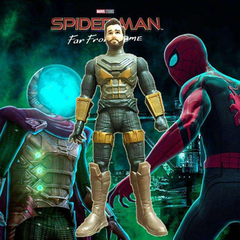2020 Marvel Toys Legends Series Spider-Man Far From Home MYSTERIO PVC Action Figure Collection Model Dolls Children Gifts 14cm super hero spider man pvc action figures toys far from home spiderman figure toys spider man collectible model toy kid gift