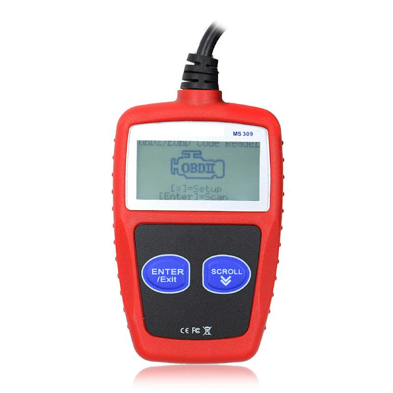 MS309 CAN BUS OBD2 Car Code Reader Diagnostic Tool Car Code Scanner With Multi-languages Car Computer Diagnostic Instrument Tool