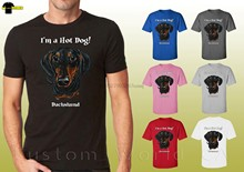 Dachshund Graphic Shirts Cute Dog Dachshund Face Design Unisex T-Shirt 19648hd4 Cool Casual pride t shirt men Unisex New Fashion(China)