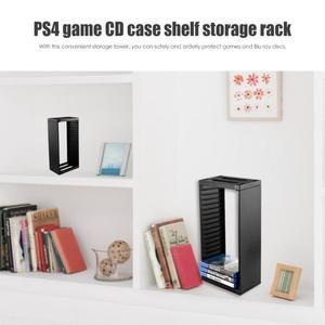 Image 2 - Para ps4 magro pro console jogos caixa de cartão disco armazenamento caso torre cd suporte para ps4 magro pro game console