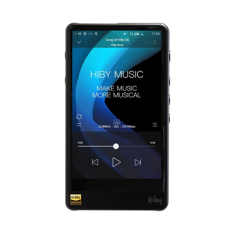HiBy R6 Pro (alliage d'aluminium) lecteur de musique sans perte lecteur Audio numérique haute résolution Hi-Fi Bluetooth lecteur MP3