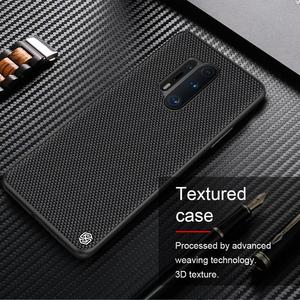 Image 5 - for oneplus 8 pro Case Cover NILLKIN textured pattern matte hard soft back cover Mobile phone black shell for oneplus 8 pro