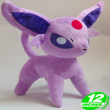 30cm Height Limited Edition Eevee Luma Anime New Plush Doll for Fans Collection Toy Espeon 30cm height limited edition eevee luma anime new plush doll for fans collection toy q mew
