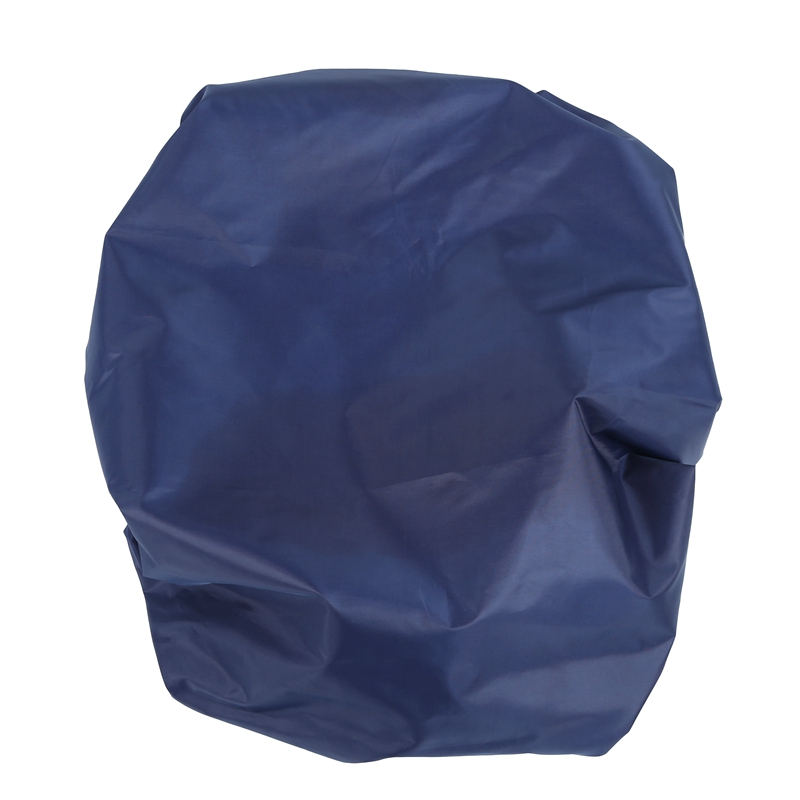 Adjustable Waterproof Dustproof Backpack Rain Cover Portable Ultralight Shoulder Protect Outdoor Tools Hiking, Dark Blue 45L